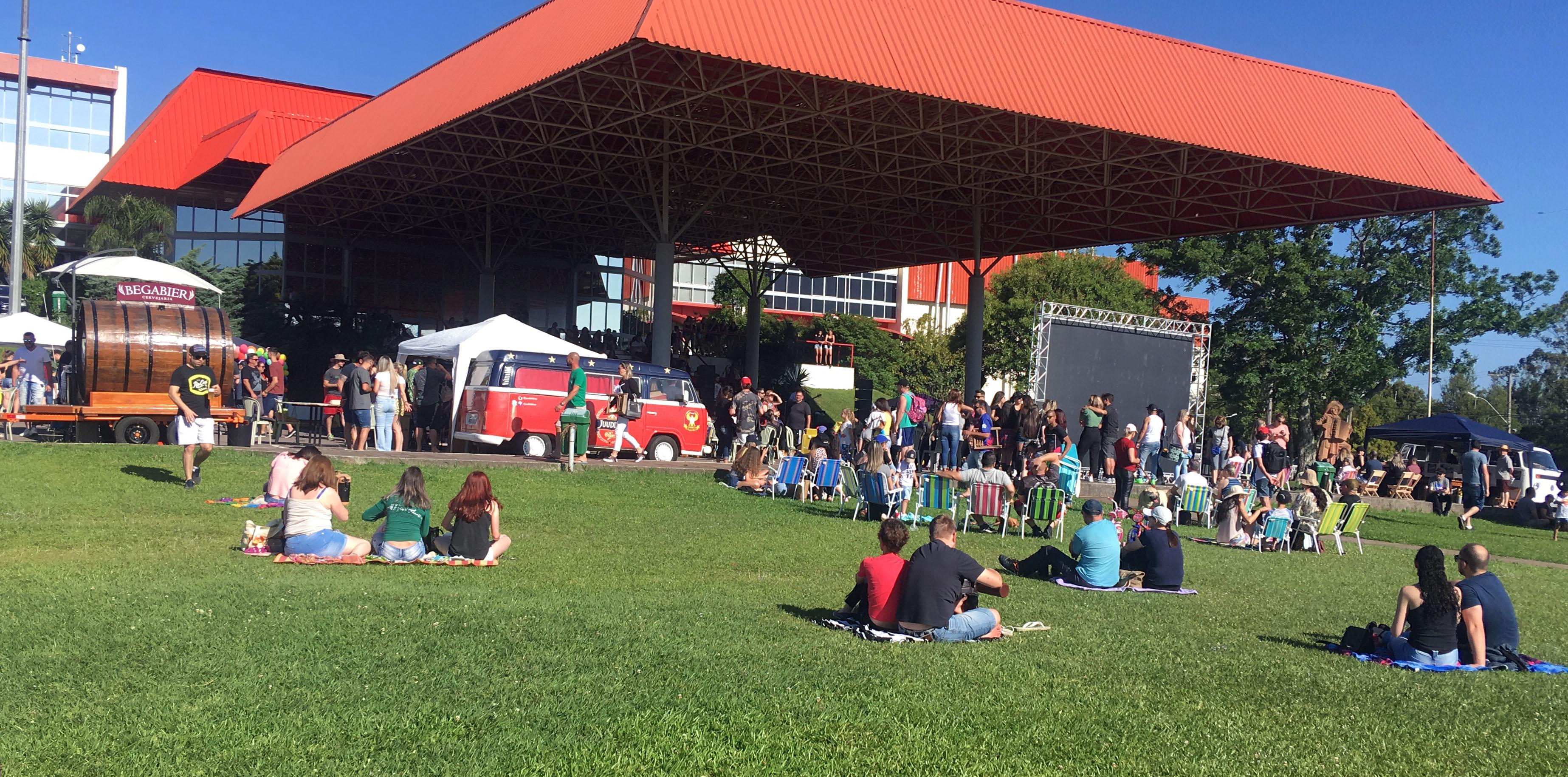 Domingo no Parque atrai mais de 2 mil pessoas