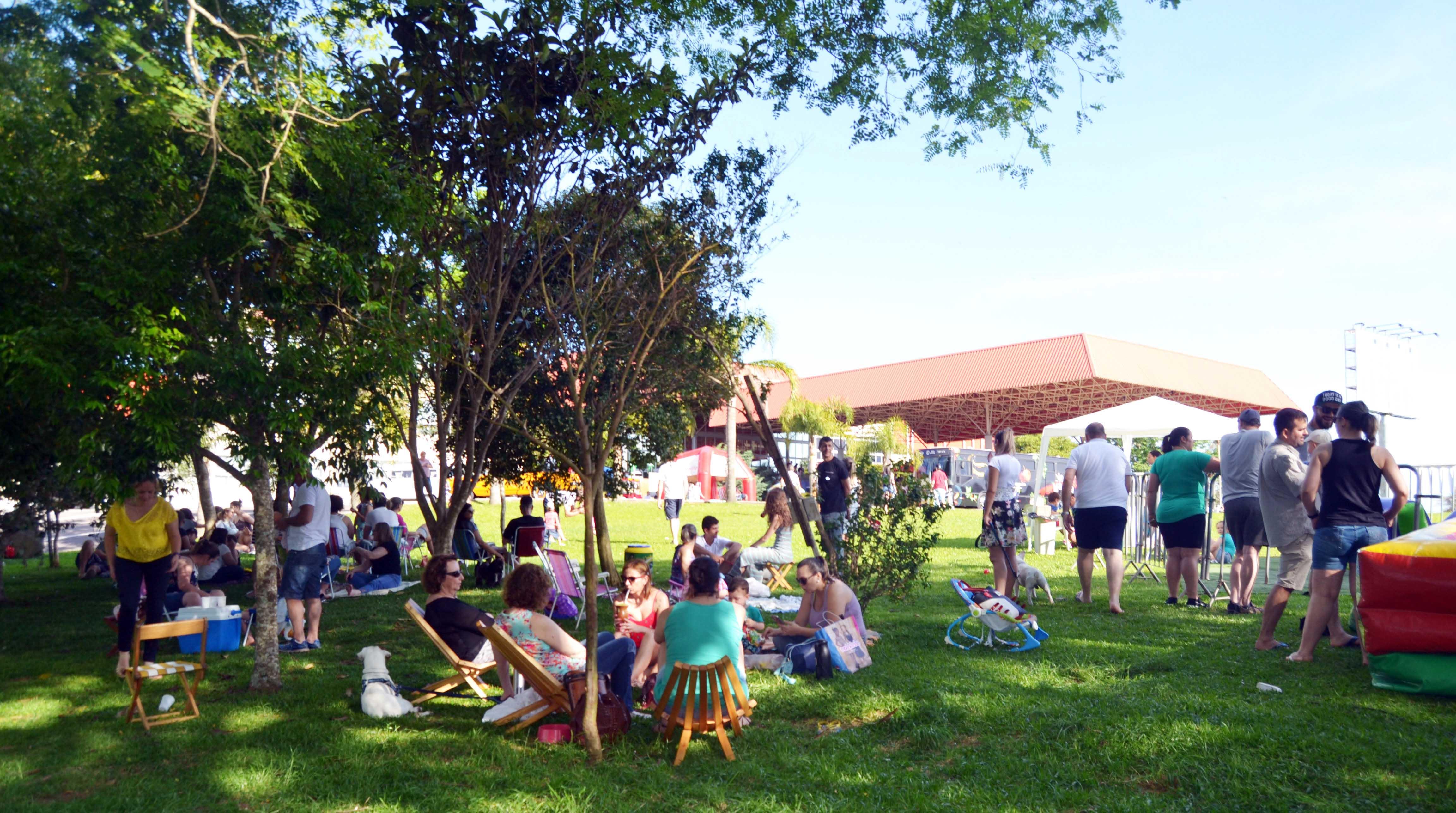 Domingo no Parque convida comunidade para dia de lazer ao ar livre